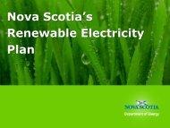 Nova Scotia's Community Feed-In Tariff Program