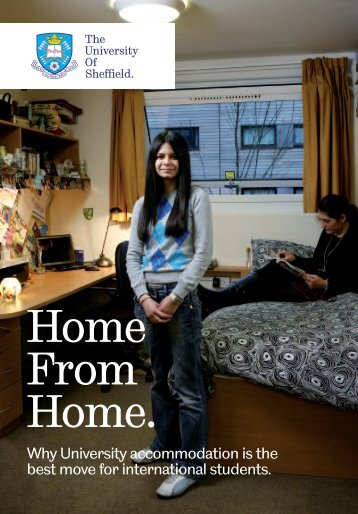 International Home from Home 2012/13 - University of Sheffield