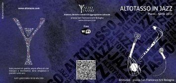 Altotasso in Jazz - Mar/Apr - Bologna Welcome