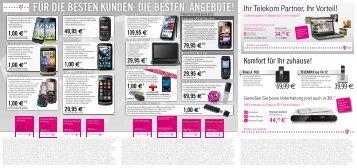 für die besten kunden: die besten angebote! Ihr Telekom Partner, Ihr ...