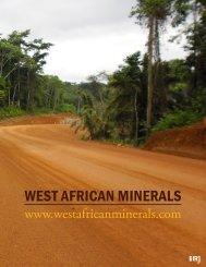 WEST AFRICAN MINERALS - The International Resource Journal
