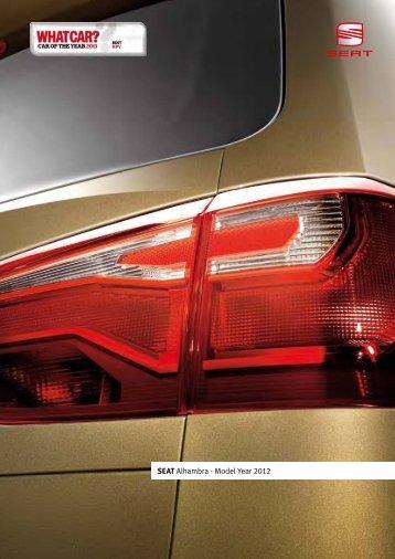 SEAT Alhambra - Model Year 2012