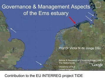 Governance & Management Aspects of the Ems estuary - TIDE