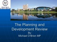 Report of the Planning and Development Review - UDIASA - Urban ...