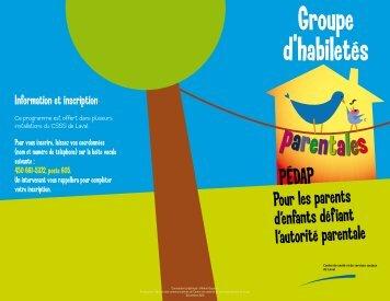 PÉDAP - Centre de santé et de services sociaux de Laval