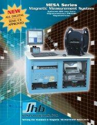 MESA Series MESA Series - Shb Instruments, inc.