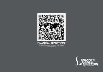 financial report 2012 - SBF Download Area - Singapore Business ...