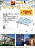 Sonderverkauf Terassendach ohne Montage bis 31.12.2012 - Seite 2