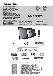 DK-KP95PH Operation-Manual GB - Sharp