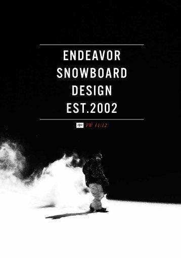 endeavor snowboard design est.2002 - Noble Custom Distribution