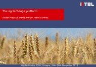 The agriXchange platform