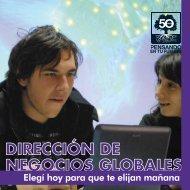 Negocios Globales - Universidad Argentina de la Empresa