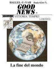 La fine del mondo - Clamorbahia.org