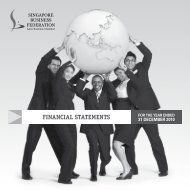 financial statements - SBF Download Area - Singapore Business ...