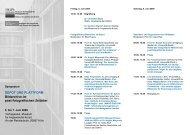 Das Programm des Symposiums auf PDF - Memoriav