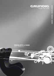 Preisliste 4 2008