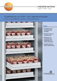Qualifizierung von Kühl - Testo Industrial Services GmbH