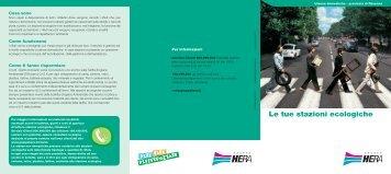 """Consulta la brochure """"le tue stazioni ecologiche"""" - Il Gruppo Hera"""