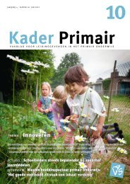 Kader Primair 10 (2011-2012). - Avs