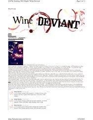 winedeviant.com - Zinfandel Advocates & Producers