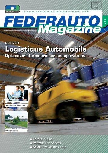Logistique Automobile - Federauto Magazine