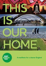 This is our home - Keep Britain Tidy