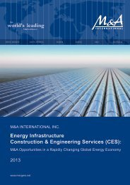 Energy Infrastructure Construction & Engineering Services (CES):