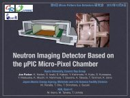 Neutron Imaging Detector Based on the µPIC Micro-Pixel Chamber