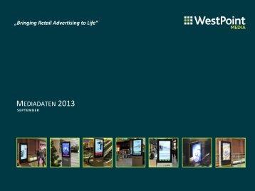 MEDIADATEN 2013 - WestPoint Media