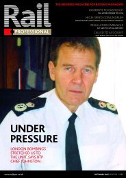 RPSEP05 pp02-03 contents - Rail Professional