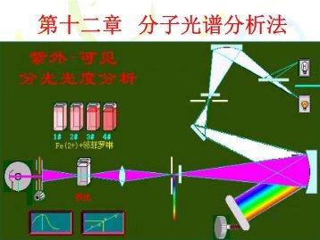 第四章分子光谱分析法