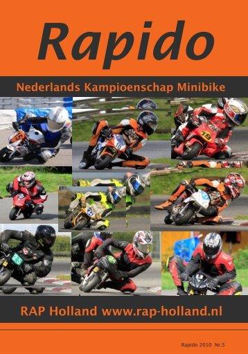 RAPIDO 2010 Nr. 5 - RAP-Holland