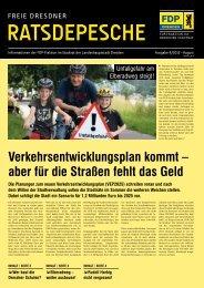 Ratsdepesche Nr. 8 4/2012 - FDP-Fraktion