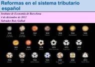 Reformas en el sistema tributario español - IEB - Institut d'Economia ...