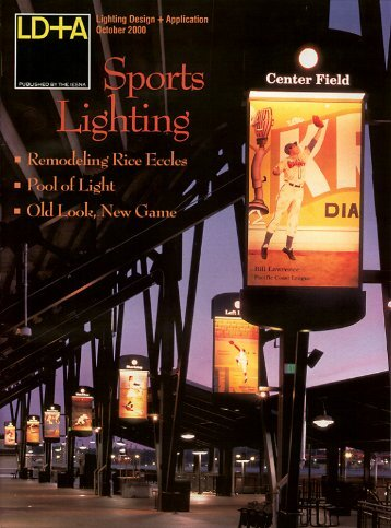 sports lighting - Illuminating Engineering Society