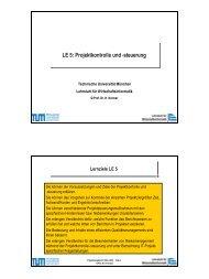 PM_SS04_LE05.pdf - Lehrstuhl für Wirtschaftsinformatik