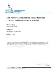 Temporary Assistance for Needy Families (TANF) - Green Book ...