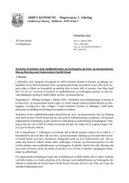 Word Pro - Dokument i Indstilling - Velkommen til Århus Kommune