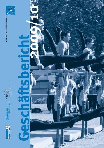 Geschäftsbericht 2010 - Aargauer Turnverband