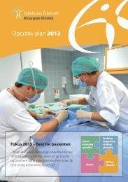 Operativ plan - Sykehuset Telemark
