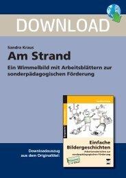 Sandra Kraus Am Strand Ein Wimmelbild mit ... - Persen Verlag GmbH