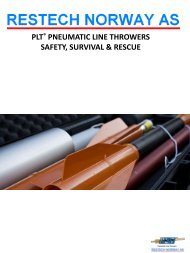 plt® pneumatic line throwers safety, survival & rescue - ShipServ