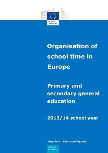 Organisation of school time in Europe - The Learning Teacher Network