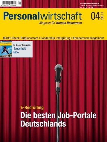 Die besten Job-Portale Deutschlands E-Recruiting