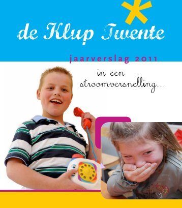 jaarverslag 2011 - De Klup