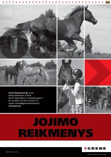 JOJIMO REIKMENYS - Grene