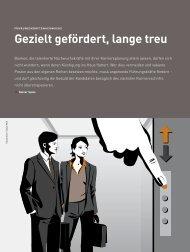 Gezielt gefördert, lange treu - Rainer Spies