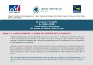 Programme - Le Pacte Mondial
