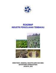 Roadmap Industri Pengolahan Tembakau - Dinas Perdagangan ...