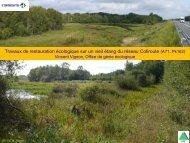 exemple d'un étang en Sologne - Le Pacte Mondial